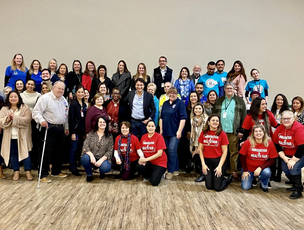 A community comes together at BRACE_s Health and Immigration Fair - 2019